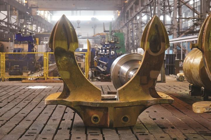 В Украине было впервые освоено производство якоря Холла