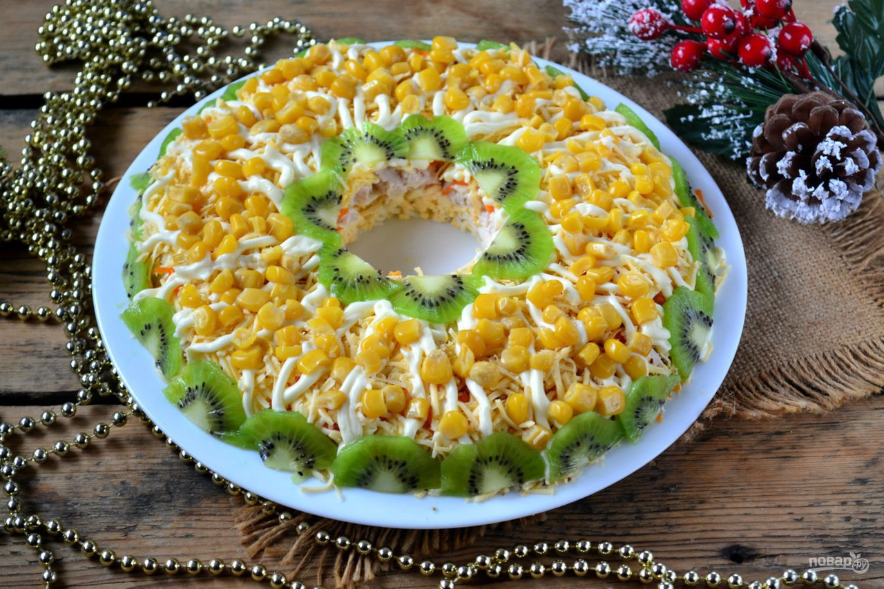 Просто и вкусно салаты к новому году 2017