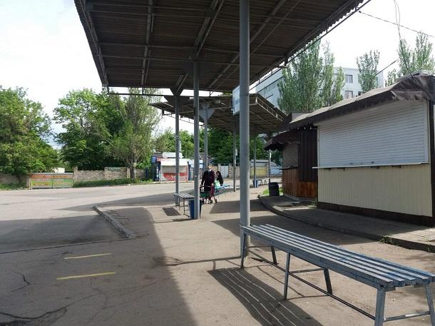 V Kramatorske mezhdugorodnie avtobusy poka ne zapustili 3