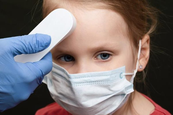 Many children with COVID 19 do not have a cough or